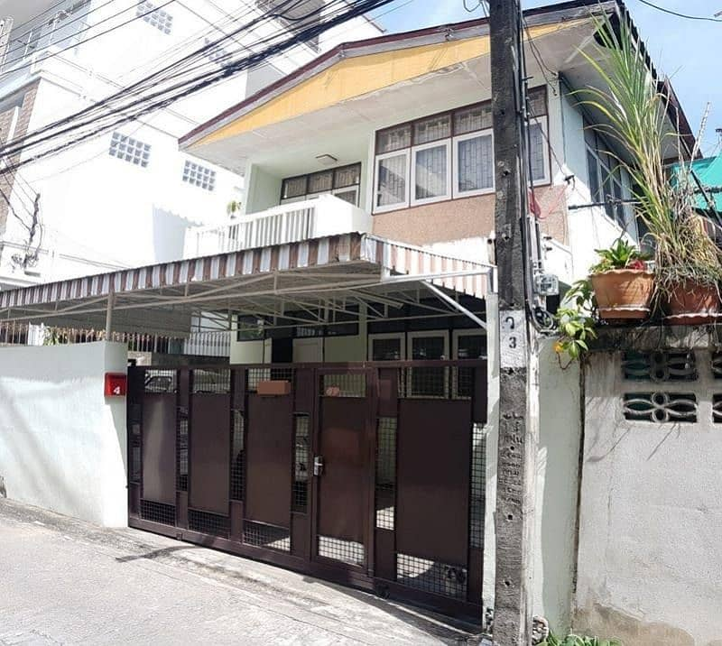 2 storey detached house for sale, 39 square meters, Soi Saint Louis 3, Chan 18, Tub 7, intersection 16, complete with furniture and appliances