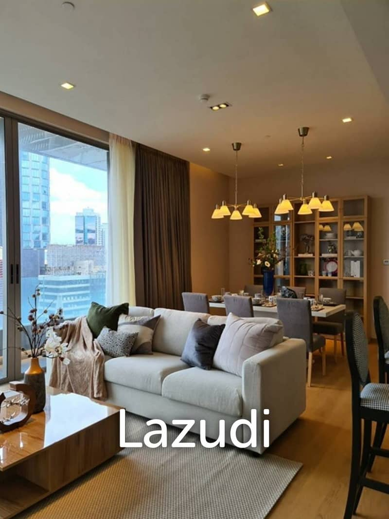 2 Bed 113.23sqm Saladaeng One For Rent & Sale