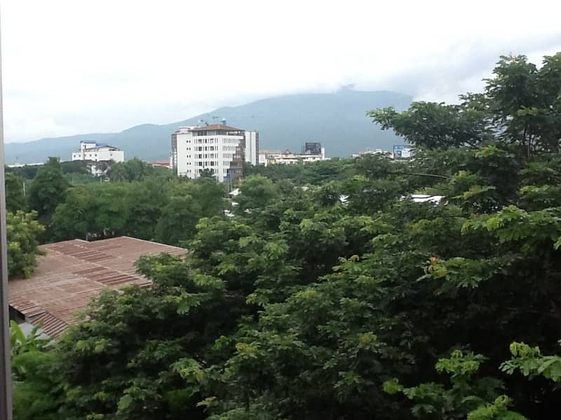 New condo for rent with furniture, mountain view, 1 bedroom, 50 sqm. , Near Central Airport Plaza, near the city