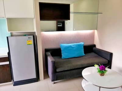 1 Bedroom Condo for Sale in Kathu, Phuket - Beautiful condo, selling below appraised price 🔥 Beautiful room, complete furniture and electrical appliances 🎉🎉 Location: The Scene Condo, Kathu, Phuket, size 30 sq. m. , 1 bedroom, 1 bathroom, 1 living room, fully furnished. - Dining table set - Sofa - Be