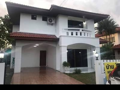 3 Bedroom Home for Rent in Ban Chang, Rayong - House for rent Thaweesuk Garden Home Village