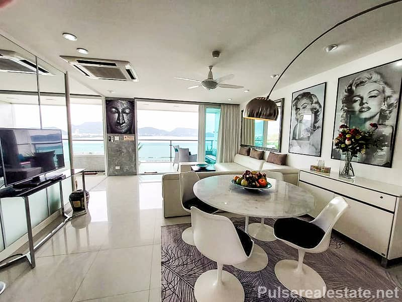 Panoramic Sea View Freehold Condo for Sale at BayCliff, Patong