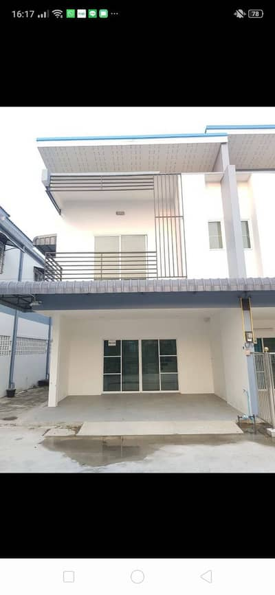 2 Bedroom Townhouse for Rent in Ban Chang, Rayong - Townhouse for rent near road 332 in front of Phatthanawet School