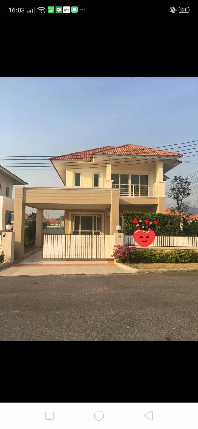 House for rent Sinthavee 2
