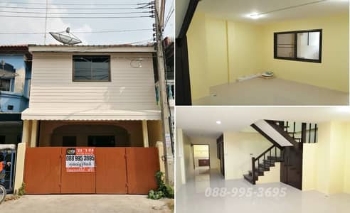 2 Bedroom Townhouse for Sale in Mueang Ang Thong, Angthong - 2 storey townhouse for sale, Piamsuk Village 1, Thetsaban Road 5, Ang Thong