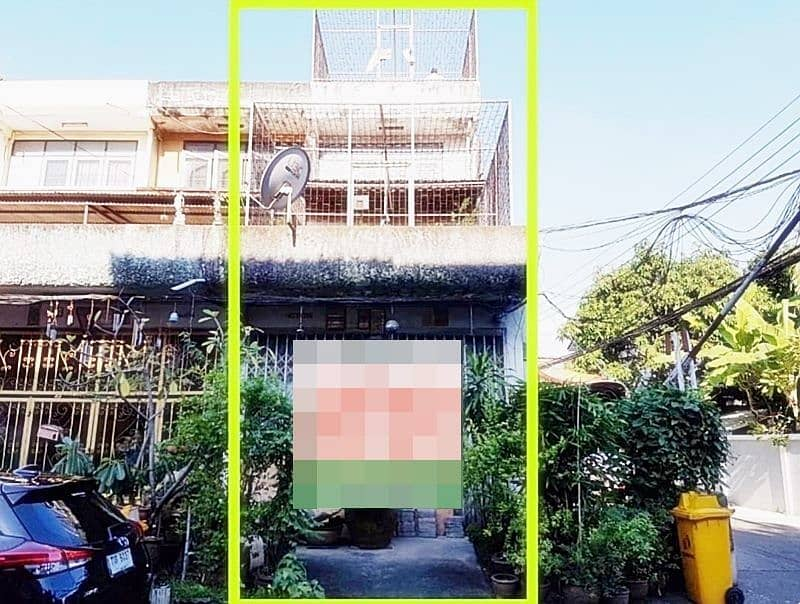 4-storey shophouse for sale, Sathupradit 57, intersection 17, after 22.5 sq. w.
