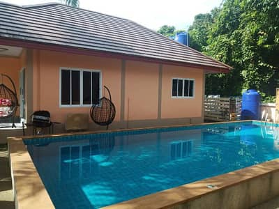 2 Bedroom Home for Rent in Mueang Krabi, Krabi - The house has a swimming pool, fully furnished and air-conditioned in Ao Nang, Krabi.