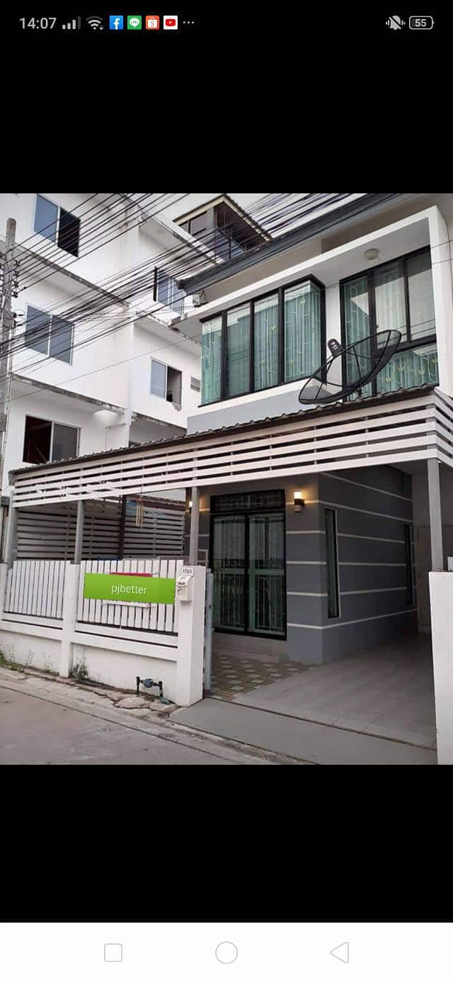 Townhouse for rent behind the corner. Comfortable village
