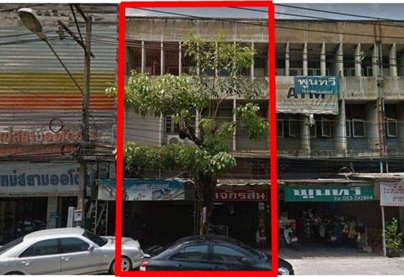 2 commercial buildings for sale, Charoen Muang Road Nong Pa Khrang Subdistrict, Mueang District, Chiang Mai Province