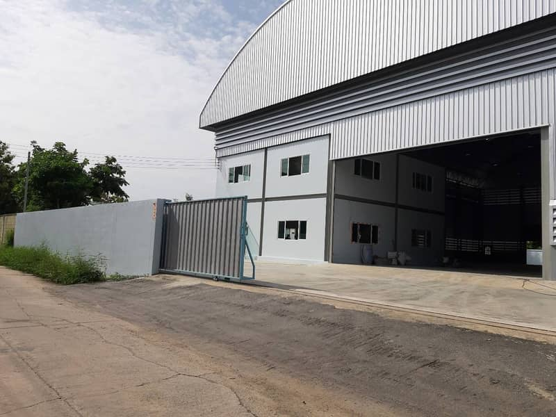 G132-Factory or warehouse for rent, area 1,700 sq m, accept 3 tons sq m, request for license 4, Theparak Rd. , Bang Phli, Samut Prakan