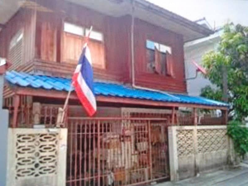 2-storey detached house for sale with land, Soi Charan 97, area 40 square meters, near the blue sky train.