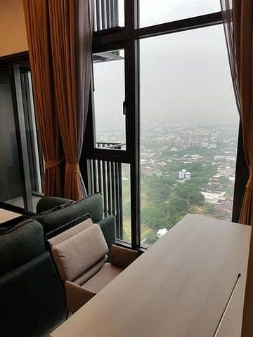 1 Bedroom Condo for Rent in Phra Khanong, Bangkok - The Line Sukhumvit 101 32nd floor beautiful view peaceful safe BTS Punnawithi