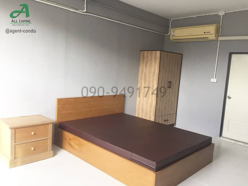 Apartment for Rent Bunchuay Rich Near Big C Wongsawang There are many rooms.