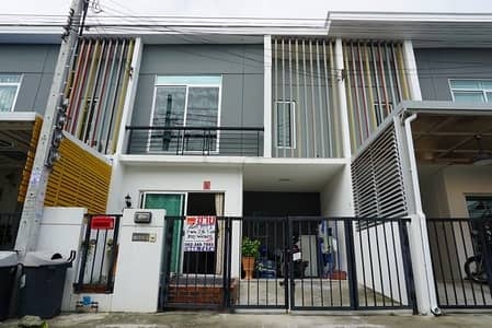 3 Bedroom Townhouse for Sale in Bang Sao Thong, Samutprakan - Townhouse for sale, Pruksa 86 Village, Lat Krabang, Suvarnabhumi, ready to move in, new condition.