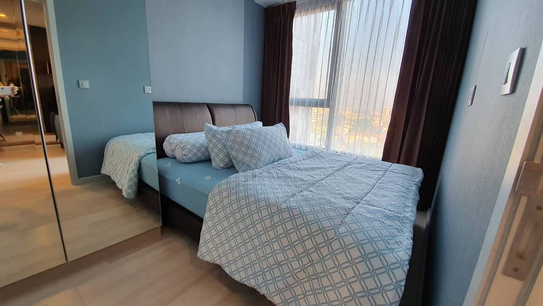 Condo for rent, Cheap Knightsbridge Prime Sathorn (Knightbridge Prime Sathorn), near BTS Chong Nonsi, 1 bedroom, 25 sq. m. , 23rd floor, fully furnished, beautiful view.