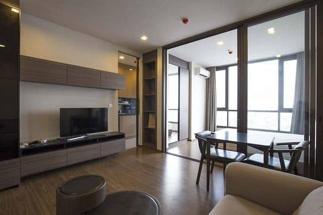 M3660-Condo for sale, The Line Sukhumvit 71, near BTS Phra Khanong, has a washing machine, fully furnished, ready to move in.