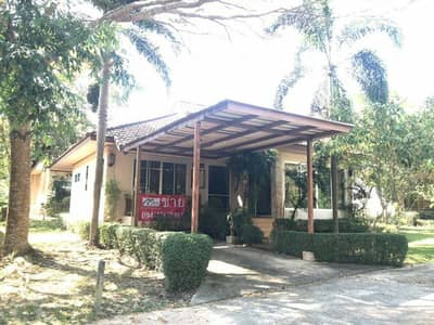 Urgent sale, beautiful single house decorated with resort style in Nakhon Nayok golf course