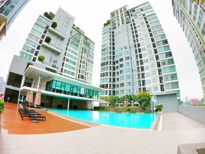 1 Bedroom Condo for Rent in Bang Na, Bangkok - Condo for rent, The Sky Sukhumvit, corner room, 9th floor, Building B, fully furnished, 350 meters from BTS Udomsuk