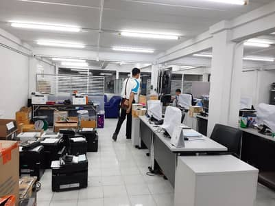Commercial Building for Rent in Bang Phlat, Bangkok - For rent, commercial buildings, commercial buildings, 3 booths, 4 floors, 45 square meters, Soi Charansanitwong 83, overlap 1, width 12 m, parking, MRT Bang Phlat, Bang O