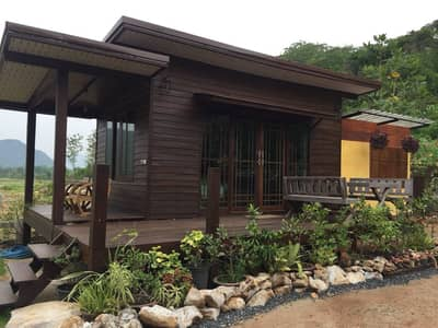 Land for Sale in Pak Chong, Nakhonratchasima - Land 1-0-46 rai with restaurant and Khao Yai reception house.
