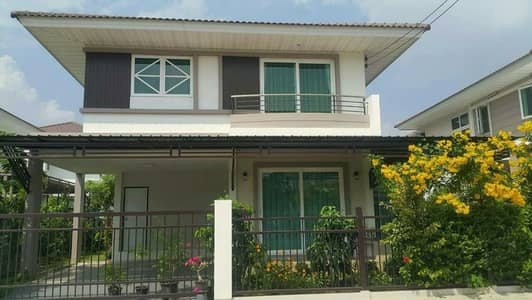 2 storey new detached house for sale, ready to be added, decorated Supalai Village Pracha Uthit 131