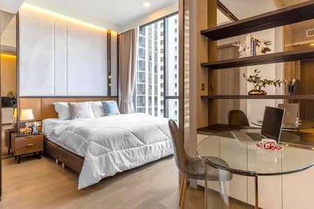 1 Bedroom Condo for Rent in Watthana, Bangkok - Gorgeous room for rent Celes Asoke Fully furnished on level 12 near BTS Asoke and MRT Sukhumvit