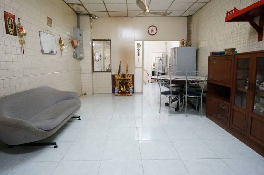 Commercial building for rent in Ratchawong area, 11 sq.
