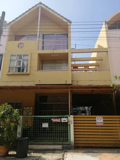 2 Bedroom Townhouse for Sale in Pak Kret, Nonthaburi - Cheap 3-storey townhouse for sale, premium golf ball village, near Muang Thong Thani