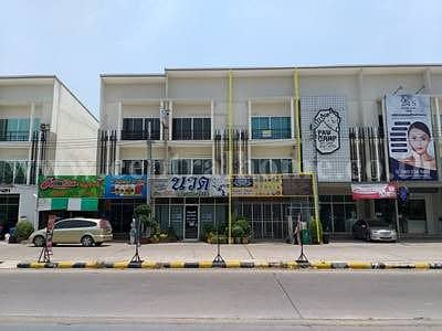 3-storey home office, new town, Don Mueang, Dechatunga road.
