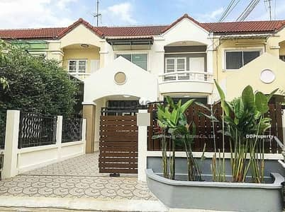 3 Bedroom Townhouse for Rent in Bang Kruai, Nonthaburi - Rent a townhome, Ratirom Village, Soi 4 Mahasawat, ready to move in