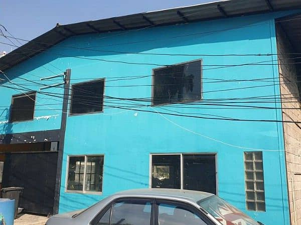 Warehouse for rent with office 133 square meters in the area of Soi Ladprao Near the intersection Ratchada-Ladprao, MRT Lat Phrao, Huay Kwang, Chatuchak, only 100 meters into the alley, good location