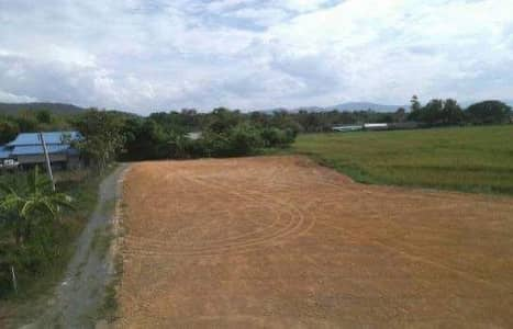 Land for Sale in Pho Chai, Roiet - Quick sale!! Filled, Doi Saket, Chiang Mai, size 396 square wah