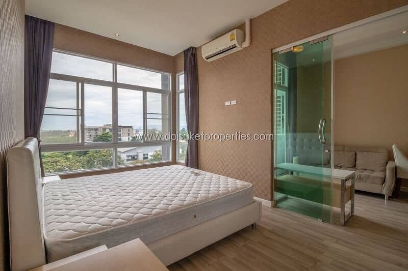 Sale / For rent My Hip Condo 2, 7th floor and corner room, pool view.