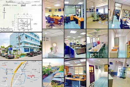 Office for Sale in Sai Mai, Bangkok - Selling commercial buildings with warehouses, 4 units, 3 floors, 120 sq. wa.
