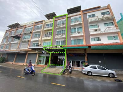 Commercial Building for Sale in Mueang Nonthaburi, Nonthaburi - Commercial building for sale, 24 square meters, 5 floors including roof deck. Next to Wat Sai Ma Road, Sai Ma, near MRT Sai Ma Station and Bang Rak Noi Tha It There is a communal car park.