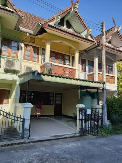 2 Bedroom Townhouse for Rent in Hot, Chiangmai - 2 storey townhouse for rent (Than Dong Village after guava)