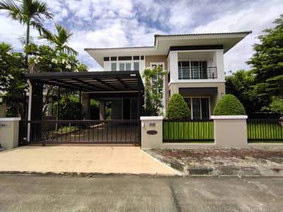 3 Bedroom Home for Sale in Doi Saket, Chiangmai - CE0348 Two-Storey house for sale. Located near the city. 3 bedrooms and 3 bathrooms, 78.6 sq. wa.