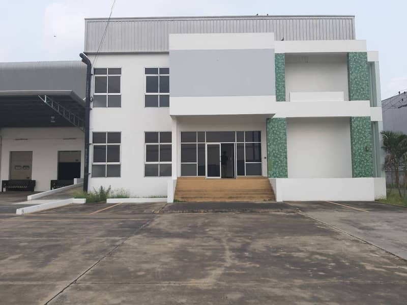 A098-Warehouse warehouse for rent with office, Wang Noi, Ayutthaya, size 10,000 sq m.