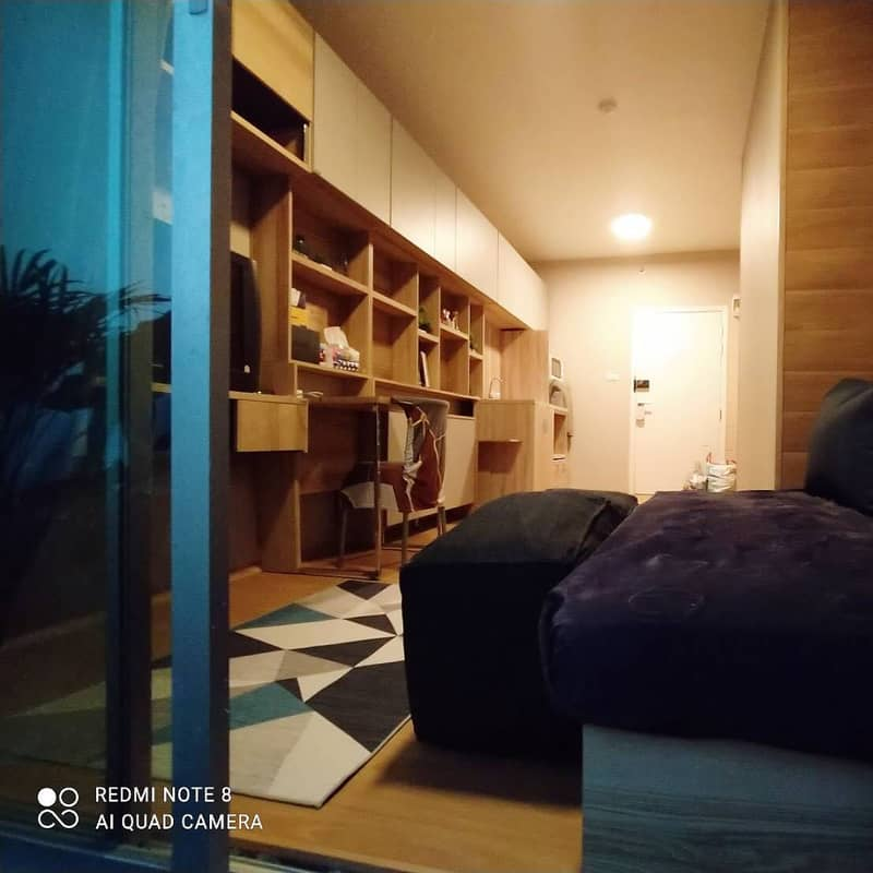 Sale 2.35 MB. Modern Japanese Smart Living with pool & gym condominium A Space Asok-Din Daeng Condominium, 1 bedroom type condominium, 36sqm. , located on Asok-Din Daeng Road, individual-owned, newly renovated and fully furnished both bedroom and living ro