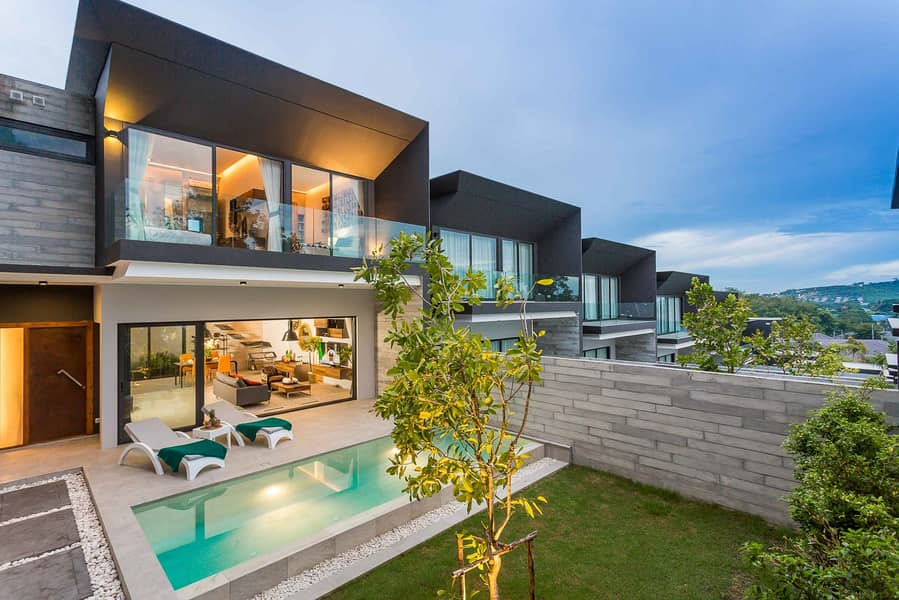 Private Pool Villas for Sale in Chalong