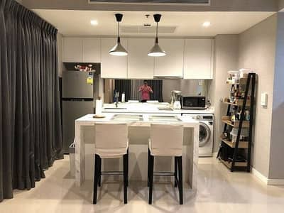 2 Bedroom Condo for Sale in Bang Kho Laem, Bangkok - Star View Star View River View Suspension bridge, fully furnished, 77 sq m.