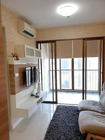 Ideo Mix Sukhumvit 103 Clean, beautiful, ready to move in and move in privacy, next to BTS Udomsuk