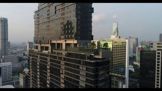 2 Bedroom Condo for Rent in Sathon, Bangkok - The Bangkok Sathon The Bangkok Sathorn, near BTS Surasak, fully furnished, river view, in every room, 128 sq. m.