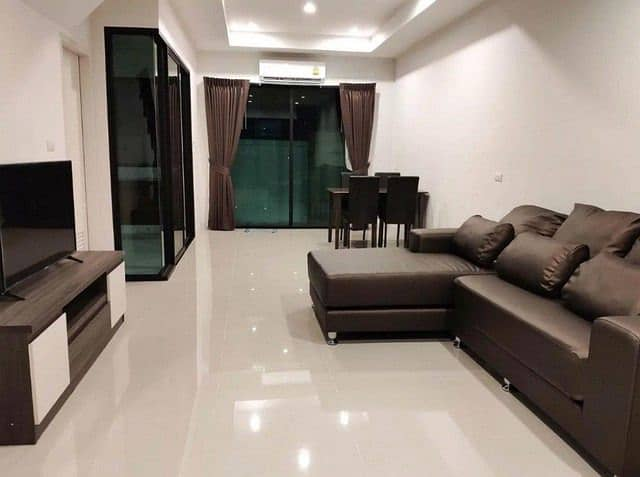 3-storey townhome for rent, Ladprao area, Soi Ladprao 107, Supalai project Essence House facing north