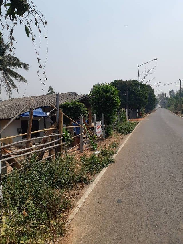 Land and house for sale in Chiang Dao.