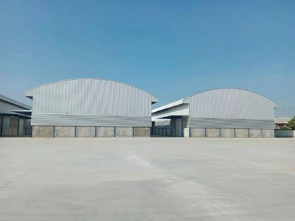 Warehouse, warehouse, factory for rent, new building 375 - 1,050, near Noppawong intersection, Lat Lum Kaeo, Pathum Thani, purple area Can request a factory license Big car in and out