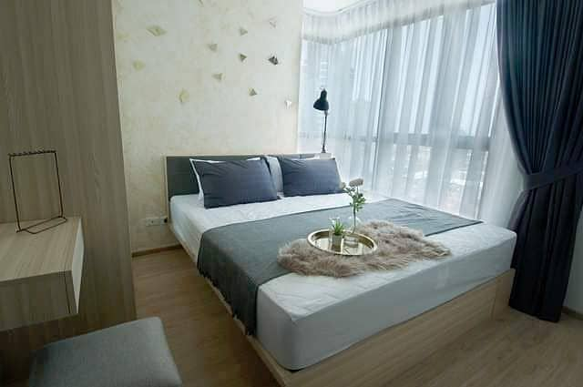 Ideo O2 large fully furnished peaceful clean BTS Bang Na