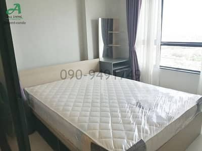 1 Bedroom Condo for Rent in Mueang Samut Prakan, Samutprakan - Condo for rent, Ideo Sukhumvit 115, Chao Phraya view, near BTS Pu Chao, there are many rooms.