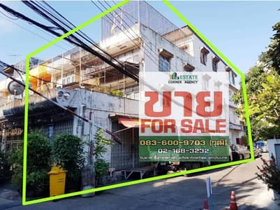 4-storey shophouse for sale, Rim Sathupradit 57, intersection 17, size 22.5 sq m.