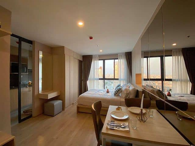 Ideo O2 Floor 31 beautiful view fully furnished ready to move in BTS Bang Na